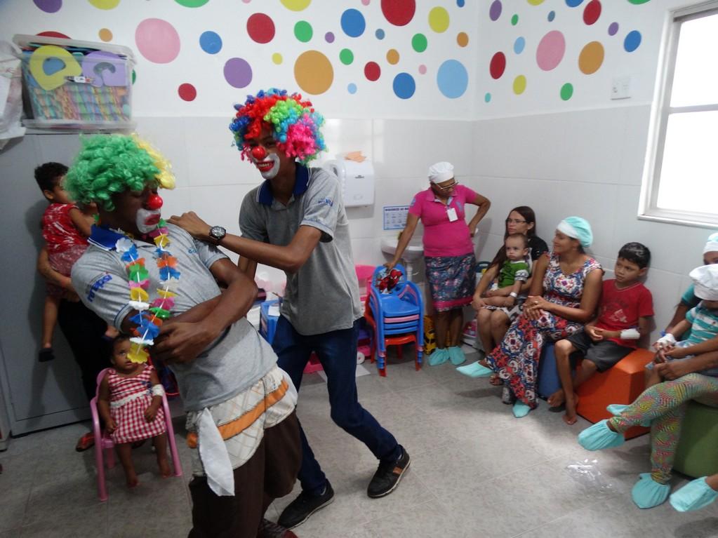 IBGH e RENAPSI levaram alegria para crianças internadas no HMA