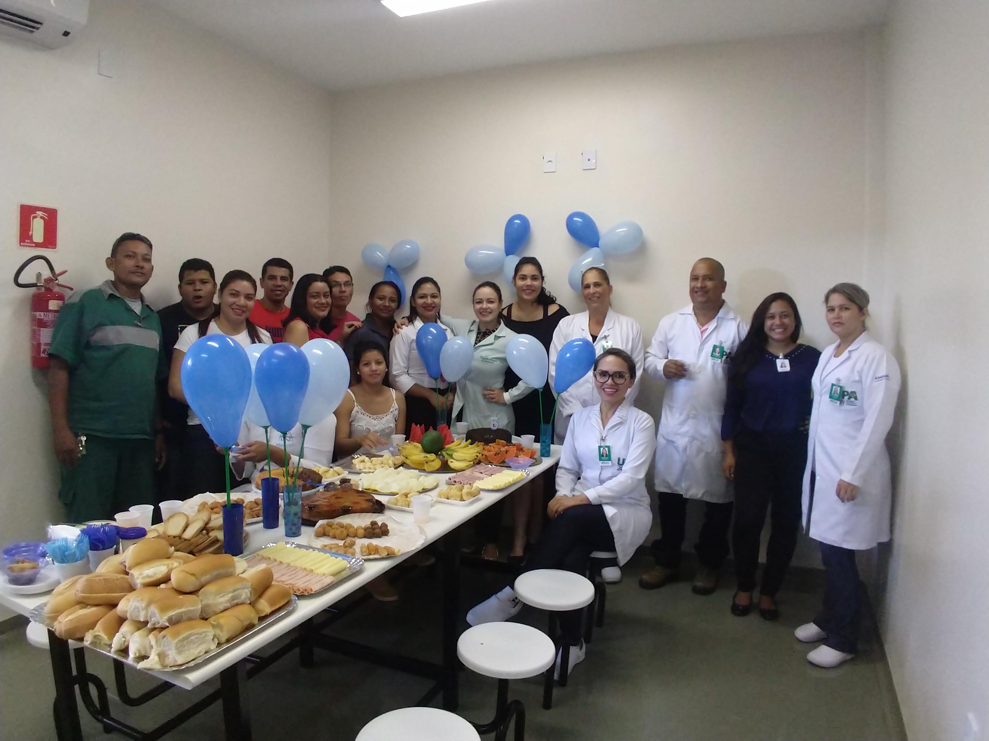 Café da manhã reúne diretores e colaboradores na celebração do aniversário do IBGH em Macapá