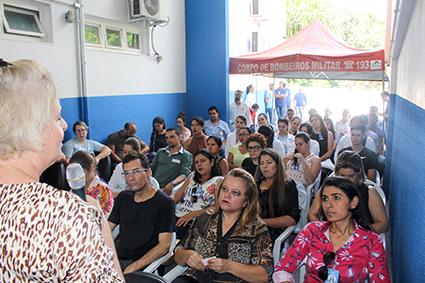 Colaboradores do HEELJ participam da IV Semana de Controle de Infecção e Segurança do Paciente