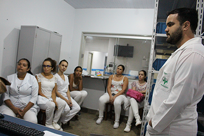 HEJA promove mutirão de treinamentos com enfermagem e farmácia