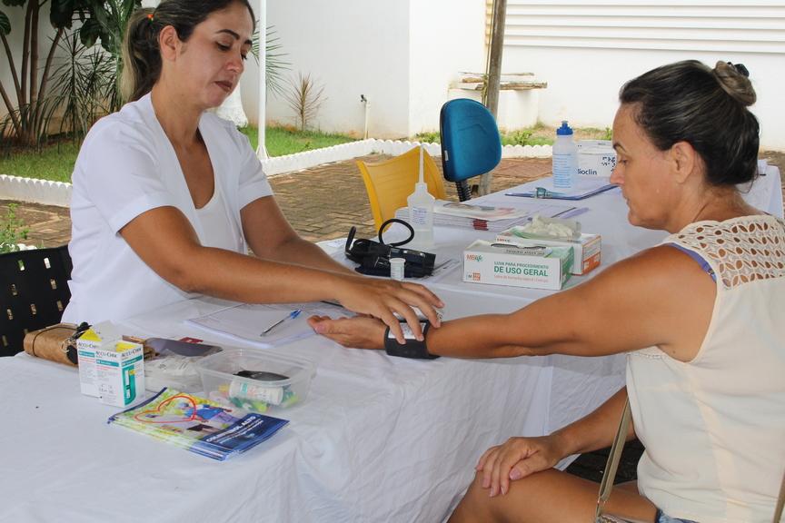 HEJA realiza semana da saúde com testes rápidos e orientações