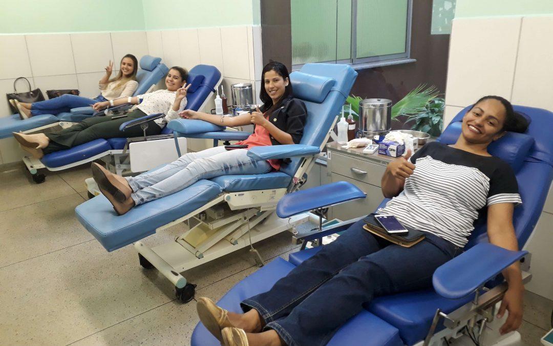 Campanha para doação de sangue mobiliza colaboradores do IBGH