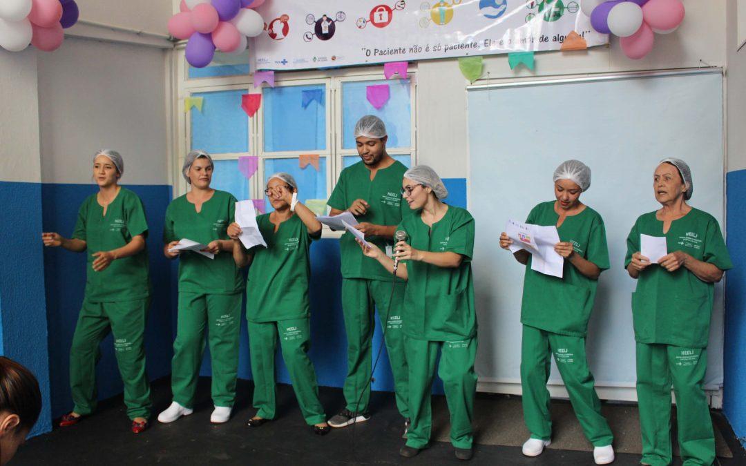 HEELJ realiza semana dinâmica com foco na segurança do paciente