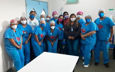Dia Mundial da Segurança do Paciente no Centro de Atendimento Clínico Covid-19 Zona Sul