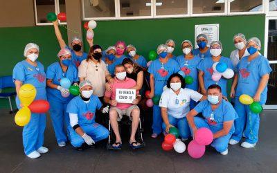 Centro de Atendimento Clínico Covid-19 Zona Sul promove alta humanizada