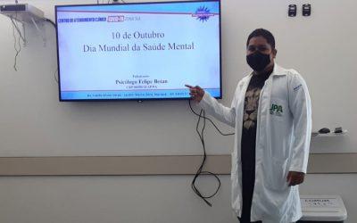 Centro Covid-19 Zona Sul comemora Dia Mundial da Saúde Mental