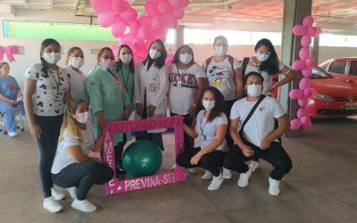 Centro de Atendimento Clínico Covid-19 Zona Sul celebra Outubro Rosa